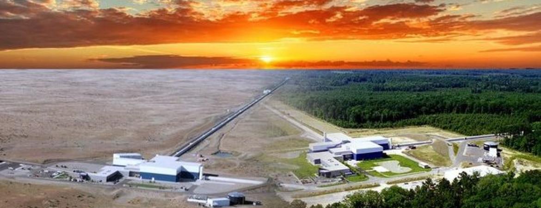 LIGO detectors and sunset